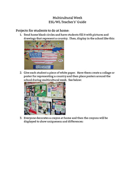 Multicultural Guide for Teachers