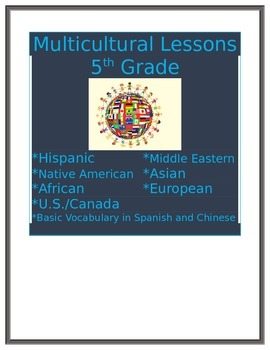 Multicultural Lesson African Countries