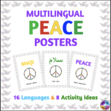 Multilingual Peace Posters #kindnessnation #weholdthesetruths