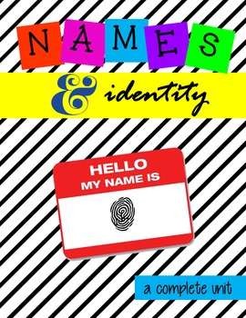 Multimedia Unit:  The Power of Names Creating Identity for