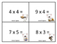 Multiplication Game : Smores Theme (Factors 0-10)