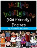 Multiple Intelligence Kid Friendly Posters