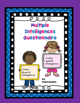 Multiple Intelligence Questionnaire for Students