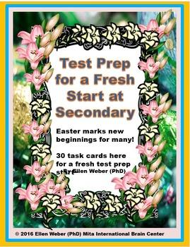 Multiple Intelligence Test-Prep - Fresh Start for Secondar