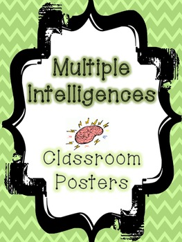 """Multiple Intelligences Posters in """"Smart"""" form"""