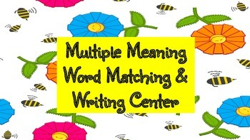 Multiple Meaning Word Matching Center