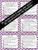 Multiple Meaning Words Interactive Task Cards - Vocabulary