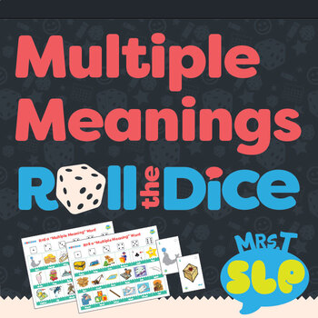 Multiple Meanings Words: Roll-the-Dice Games