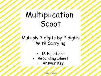 Multiple Multiplication Scoot