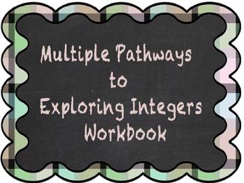 Multiple Pathways to Integers Workbook and Presentation