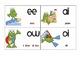 Multiple Phonogram Flash Cards - Beach Froggies