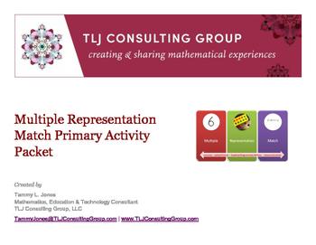 Multiple Representation Match Primary Mathematics Packet