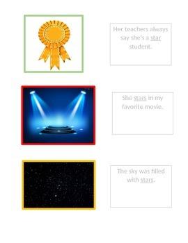 Multiple meanings of star/STAAR