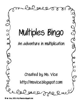 Multiples Bingo