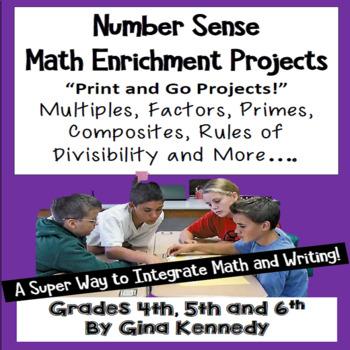 Multiples, Factors, Prime and  Composites Creative Math En