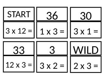 Multiples of 3 SLAM game