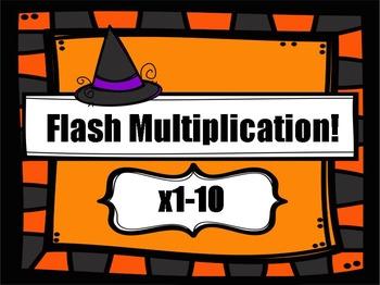 Multiplication 1-10 (Halloween)
