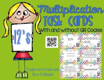 Multiplication 12's