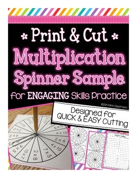 Multiplication Spinner Sample