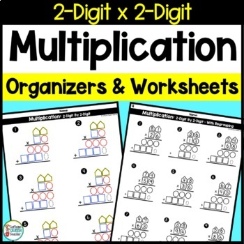 Two Digit Multiplication Kit - 2 Digit Multiplication - Ma