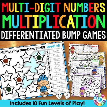 Multiplication Games: Multiplying Multi-Digit Numbers (4.N