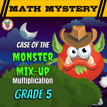 Multiplication Math Mystery Activity {Multiplying Numbers,