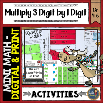 Multiplication 3 Digit By 1 Digit Math Activities Google S