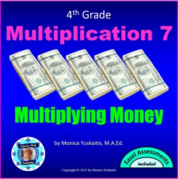 Common Core 4th - Multiplication 4 - Multiplication of Mon