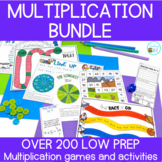 Multiplication Activities and Games for each Multiplicatio