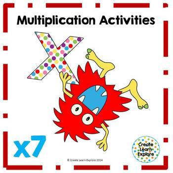Multiplication Activities x7