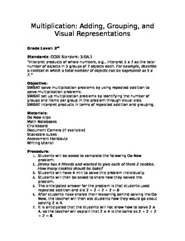 Multiplication: Adding, Grouping, and Visual Representations