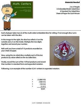 Multiplication & Addition Center - Basic