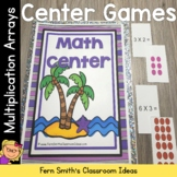 Multiplication Arrays Math Center Games