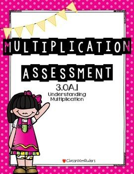 Multiplication Assessment 3.OA.1