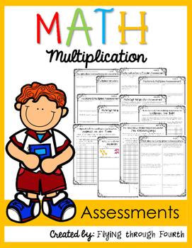 Multiplication Assessments & Extended Response 4.OA.1, 4.O