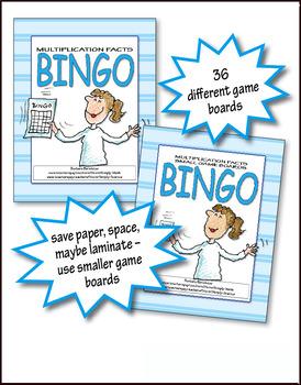 Multiplication Bingo 1