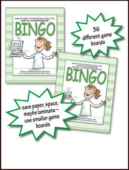 Multiplication Bingo 2