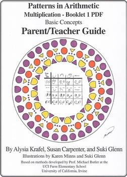 Multiplication:  Booklet 1 - Parent/Teacher Guide - Basic