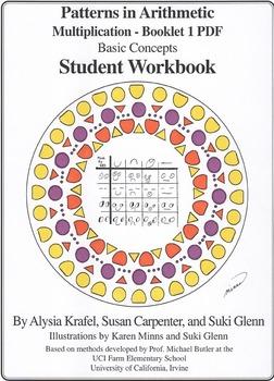 Multiplication:  Booklet 1 - Student Workbook - Basic Concepts