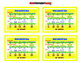 Multiplication Brace Maps = Poster/Anchor Chart with Cards