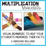 Multiplication Bracelets {Fact Fluency 0-12}