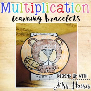 Multiplication Bracelets