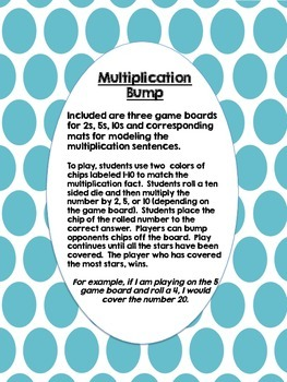 Multiplication Bump 2, 5, 10
