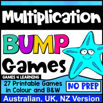 Multiplication Games 27 Multiplication Facts Bump Games Au