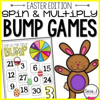 Spring & Easter Multiplication Games
