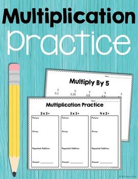 Multiplication Practice (Numbers 1-12)