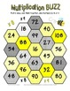 16 Multiplication Buzz Dice Games (Common Core)