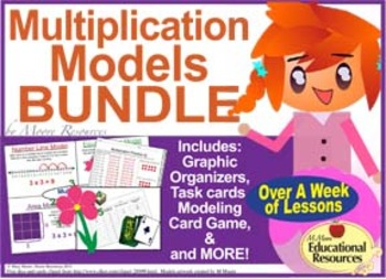 Multiplication Ultimate BUNDLE of Activities and Lessons t