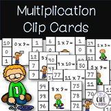 Multiplication Clip Cards