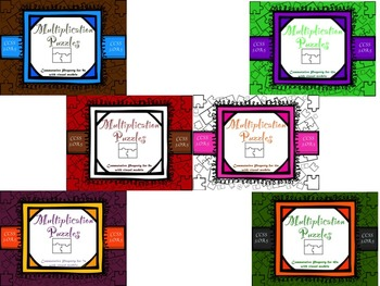 Multiplication Commutative Property for 7-12 with Visual Models